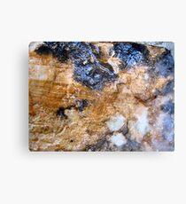 """Rock Strata"" Canvas Print"