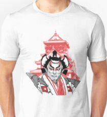 Japanese kabuki actor in Tokyo tshirt etc. Unisex T-Shirt