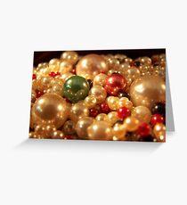 Precious Pearls Greeting Card