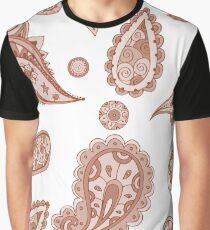 Mehndi design. Hand drawn background Graphic T-Shirt