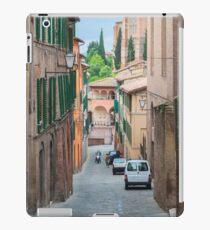 Walkway on in old town in Europe iPad Case/Skin