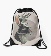 Jackalope Drawstring Bag