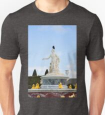 Crow Perched on Statue's Head T-Shirt