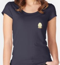 The Shimmering Ostrich Egg Women's Fitted Scoop T-Shirt