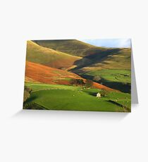 English Hills and Dales Greeting Card