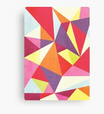 Triangalize Canvas Print