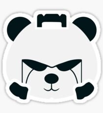 Panda Space Marine - Warhammer 40k Sticker
