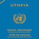 Utopian Passport - Clothing Design by Omar Dakhane