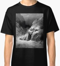 Bible New Testament Gustave Dore or Doré Mary Magdalene Repentant Classic T-Shirt