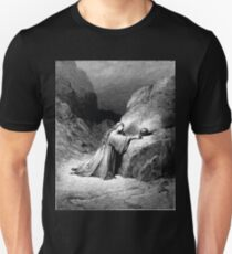 Bible New Testament Gustave Dore or Doré Mary Magdalene Repentant Unisex T-Shirt