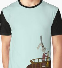 Pirate Bunny Graphic T-Shirt