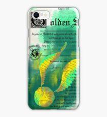 Capter: Golden Snitch iPhone Case/Skin
