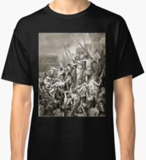Bible New Testament Gustave Dore or Doré Paul Addresses the Crowd After His Arrest Classic T-Shirt