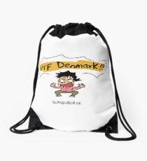 WTF Denmark!?  Drawstring Bag
