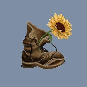 Sunflower by whimsyteaspoon