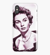 jean simmons vintage theme iPhone Case/Skin