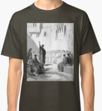 Bible New Testament Gustave Dore or Doré St Paul Preaching to the Thessalonians Classic T-Shirt