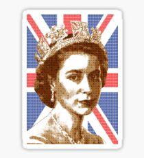 Scrabble Queen Elizabeth #2 Sticker