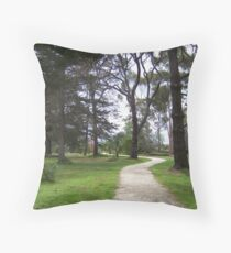 Where we are led Throw Pillow