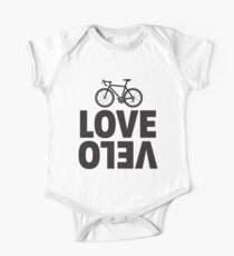 Love Velo - Cycling Design  One Piece - Short Sleeve