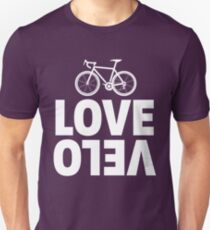 Love Velo - Cycling Design  Unisex T-Shirt