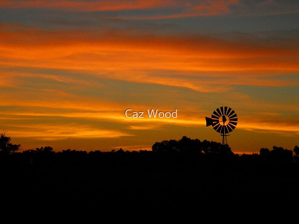 Windmill Sunrise @ Cowaramup by Caz Wood
