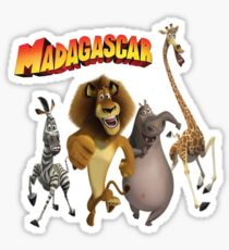 madagascar Sticker