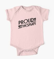 Proud Thespian. V2. One Piece - Short Sleeve
