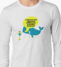 Ban whaling Long Sleeve T-Shirt