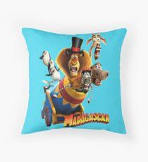 #MADAGASCAR Throw Pillow