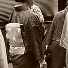Sepia Kimono by Melanie  McQuoid