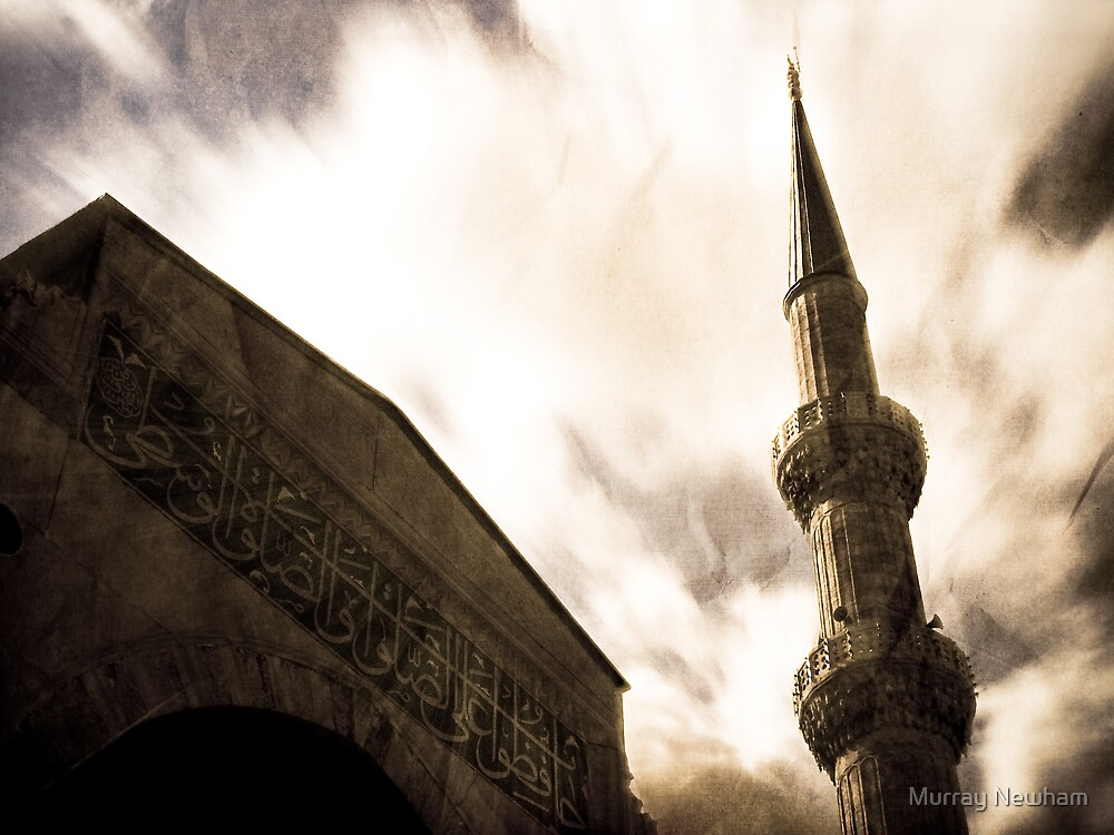 Blue Mosque, Turkey by Murray Newham
