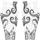 Gothic leggings by Extreme-Fantasy