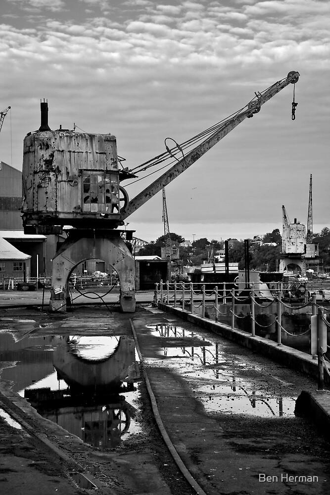 Crane 3 (Cockatoo Island) by Ben Herman