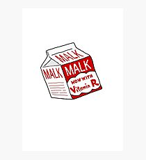 MALK Photographic Print
