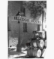 0077 Bridge Hotel Poster