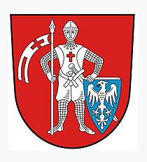 Bamberg coat of arms Photographic Print