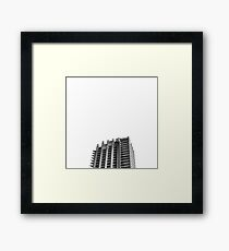 Lonely at The Barbican Framed Print