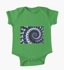 purple dotted spiral Kids Clothes