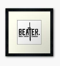 Beater Framed Print