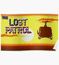 Lost Patrol Pixel Art Poster