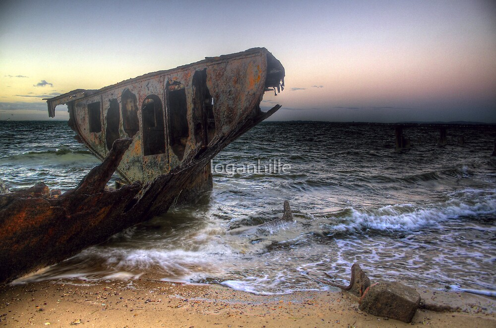 Ghost's Ship by loganhille