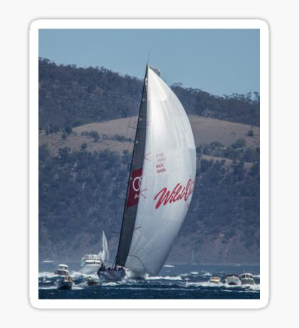 Wild Oats XI winning the 2104 Sydney to Hobart Sticker