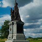 Gettysburg cloudy sky by Chris Hayworth