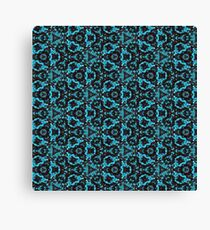 Endless Spinners- Blue Canvas Print