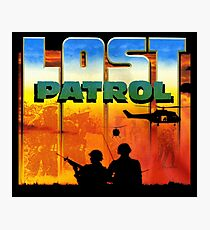 Lost Patrol Poster Photographic Print