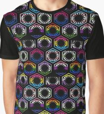 LGBT First Order Hive (Repeating - Black) Graphic T-Shirt