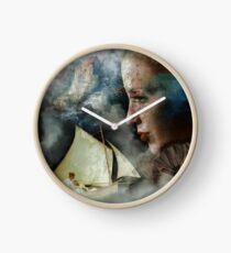 Sailing Away Clock