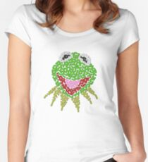 Kermit the Frog Women's Fitted Scoop T-Shirt