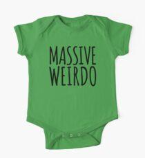 Massive Weirdo Funny Quote Kids Clothes